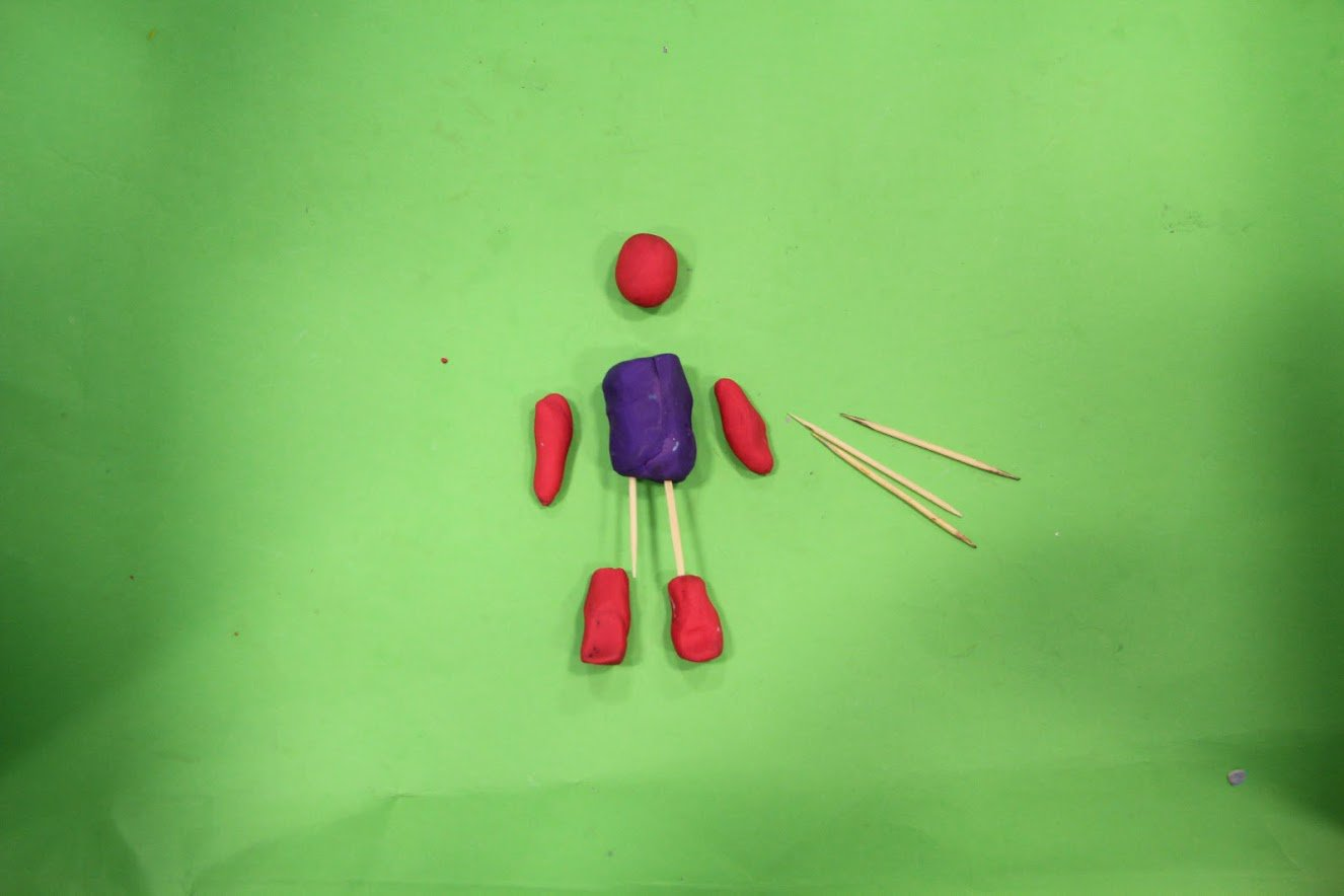 Tooth pick armature