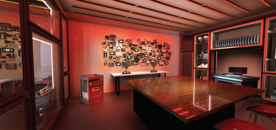 Second Story render for ACMI's Media Preservation Lab - hero image