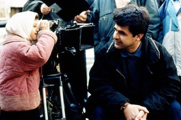 Jafar Panahi - director - on the set of The Mirror