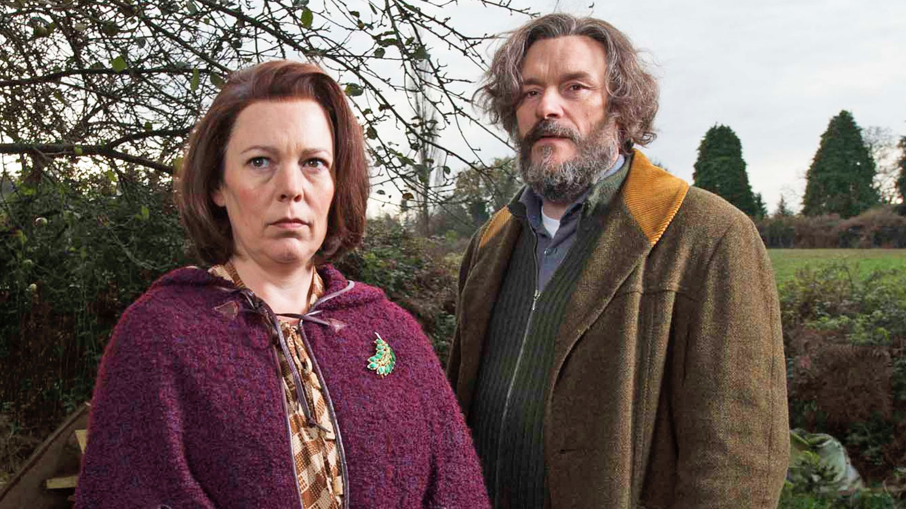 Julian Barratt and Olivia Coleman- Flowers