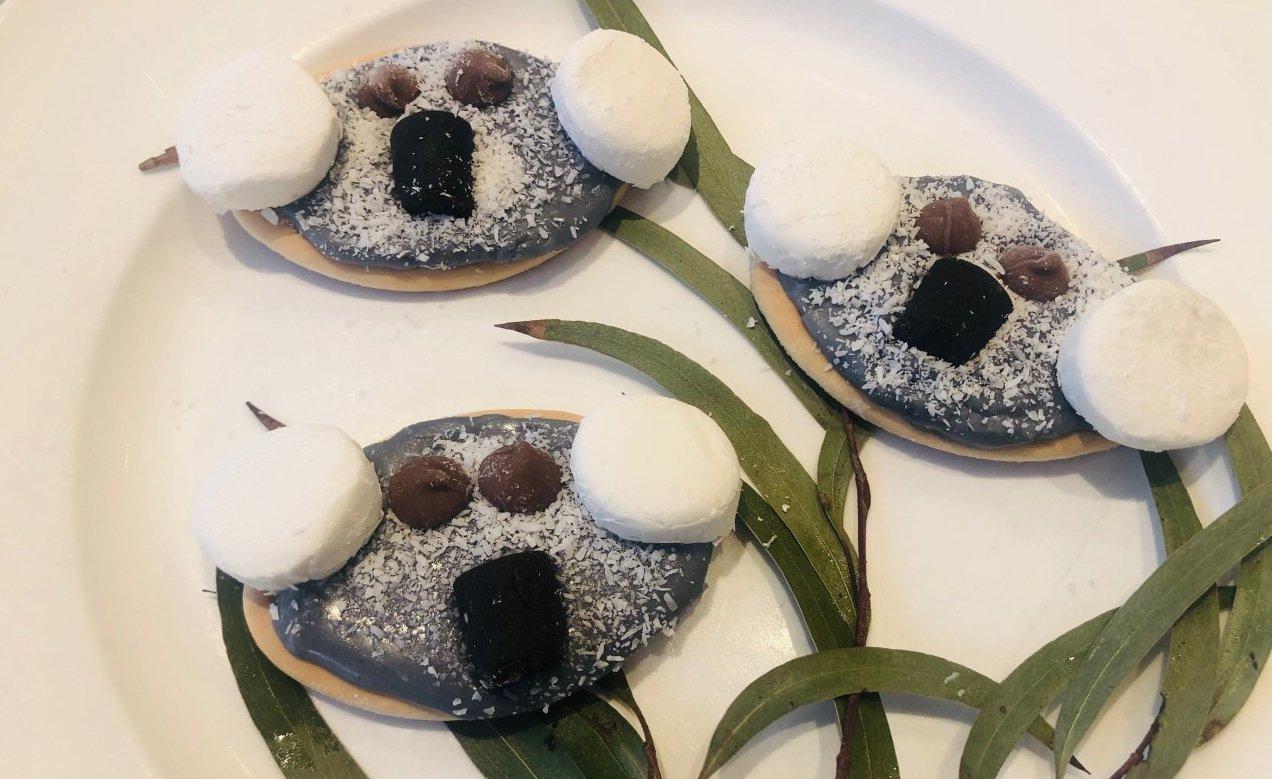 Blinky Bill koala biscuits