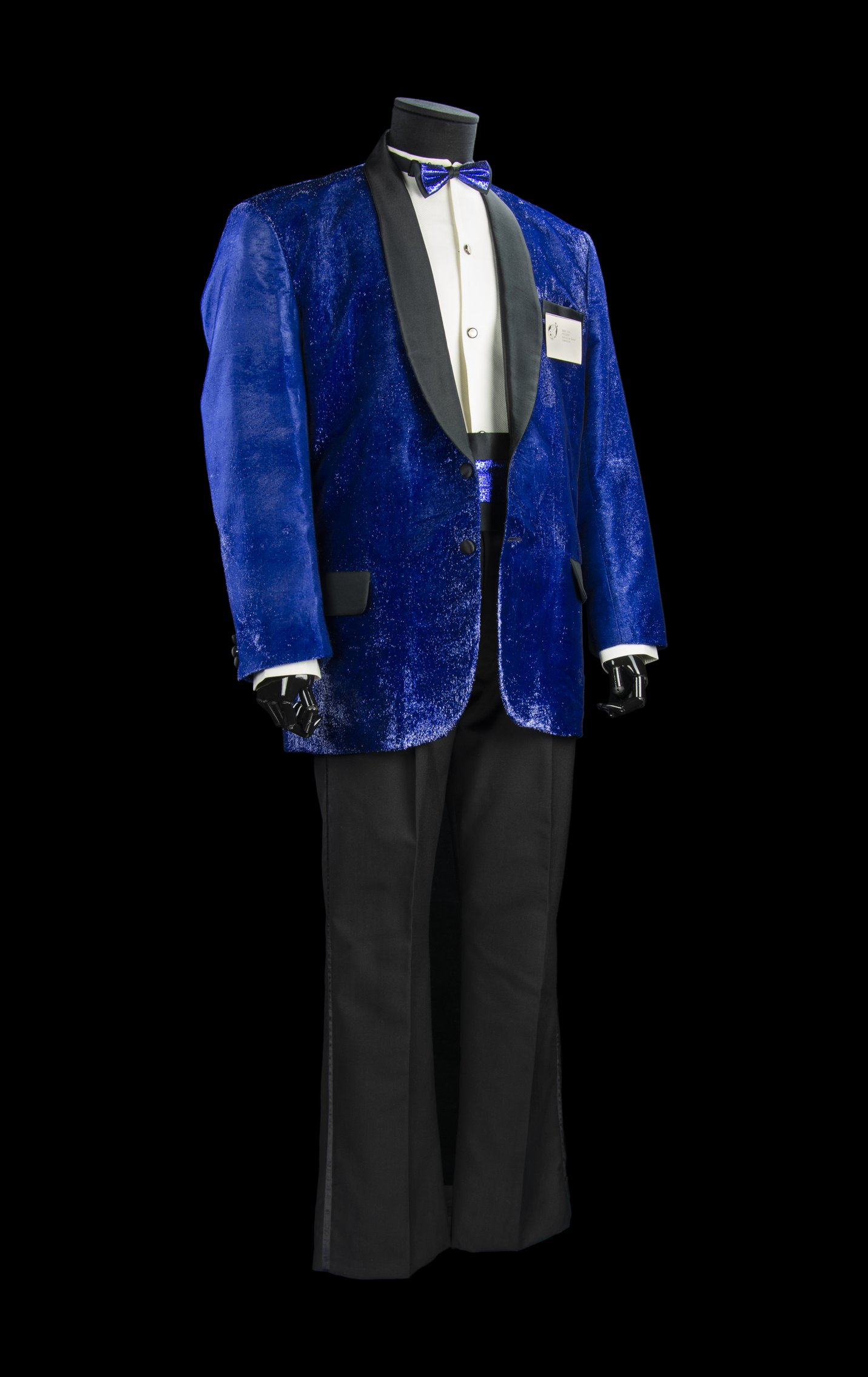 Barry Fife Blue Costume - front
