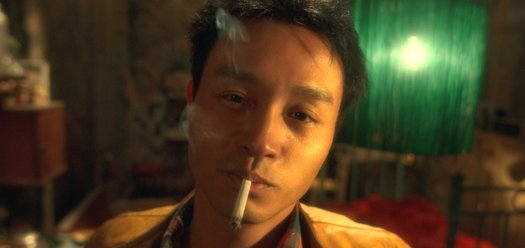 Leslie Cheung (closeup) in Happy Together