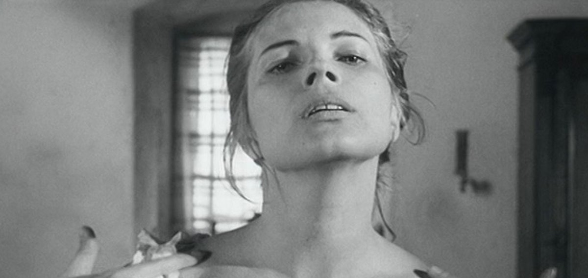 Gunnel Lindblom in a still from Loving Couples (1964)