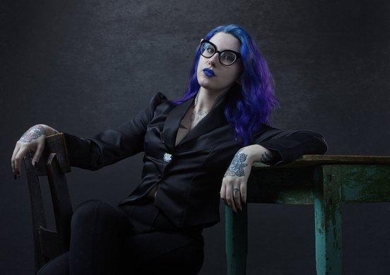 Mallory O'Meara (photograph by Allan Amato, 2018)