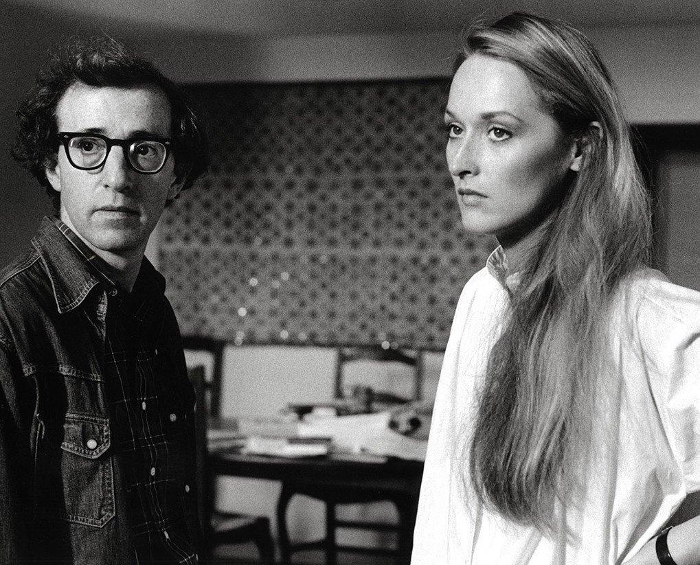 Woody Allen and Meryl Streep