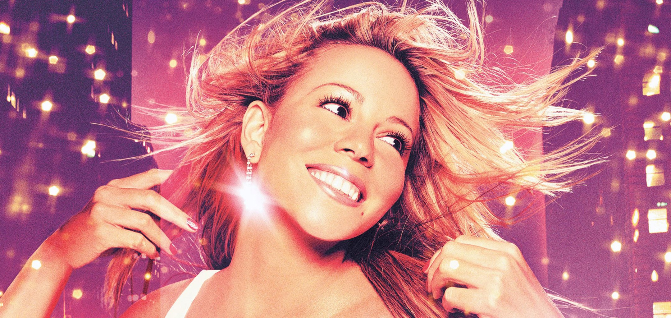 Mariah Carey in a promotional shot from 'Glitter' (2001)