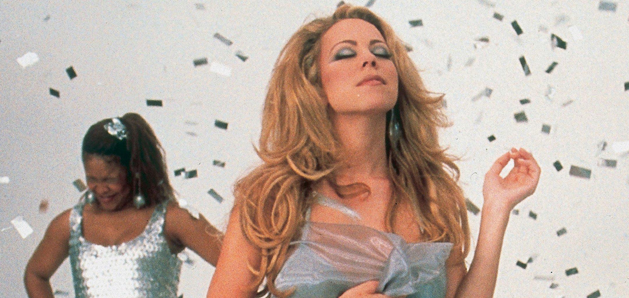 Mariah Carey in a promo shot from 'Glitter' (2001)