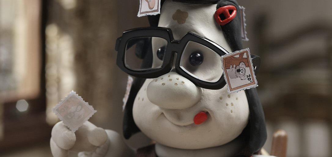 Mary with stamps in a still from Mary and Max (2009) - hero image