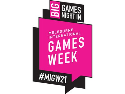 Melbourne International Games Week: Big Games Night In - logo