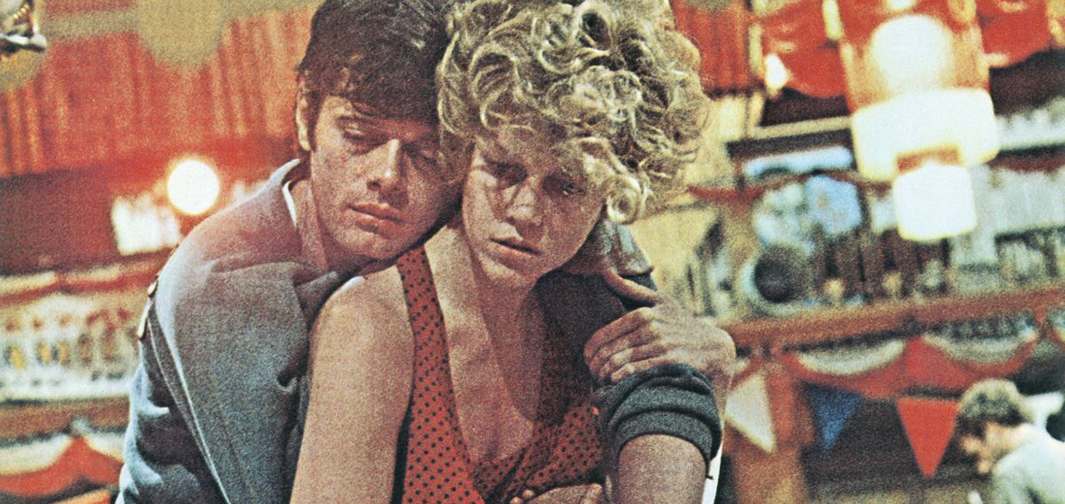 Michael Sarrazin and Jane Fonda in a publicity still from They Shoot Horses Don't They?