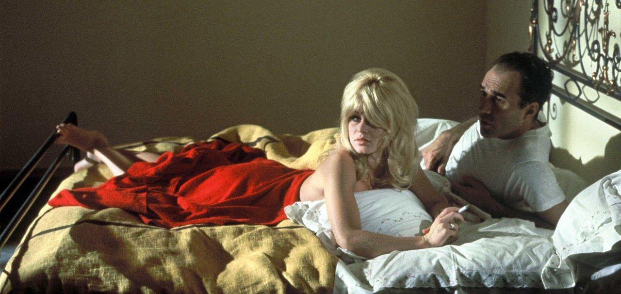 Michel Piccoli and Brigitte Bardot in 'Contempt' (1963)
