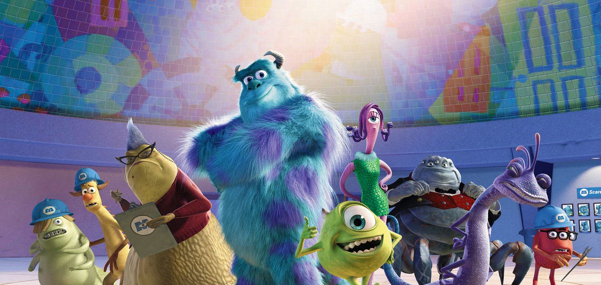 The cast of Monsters, Inc. (2001)