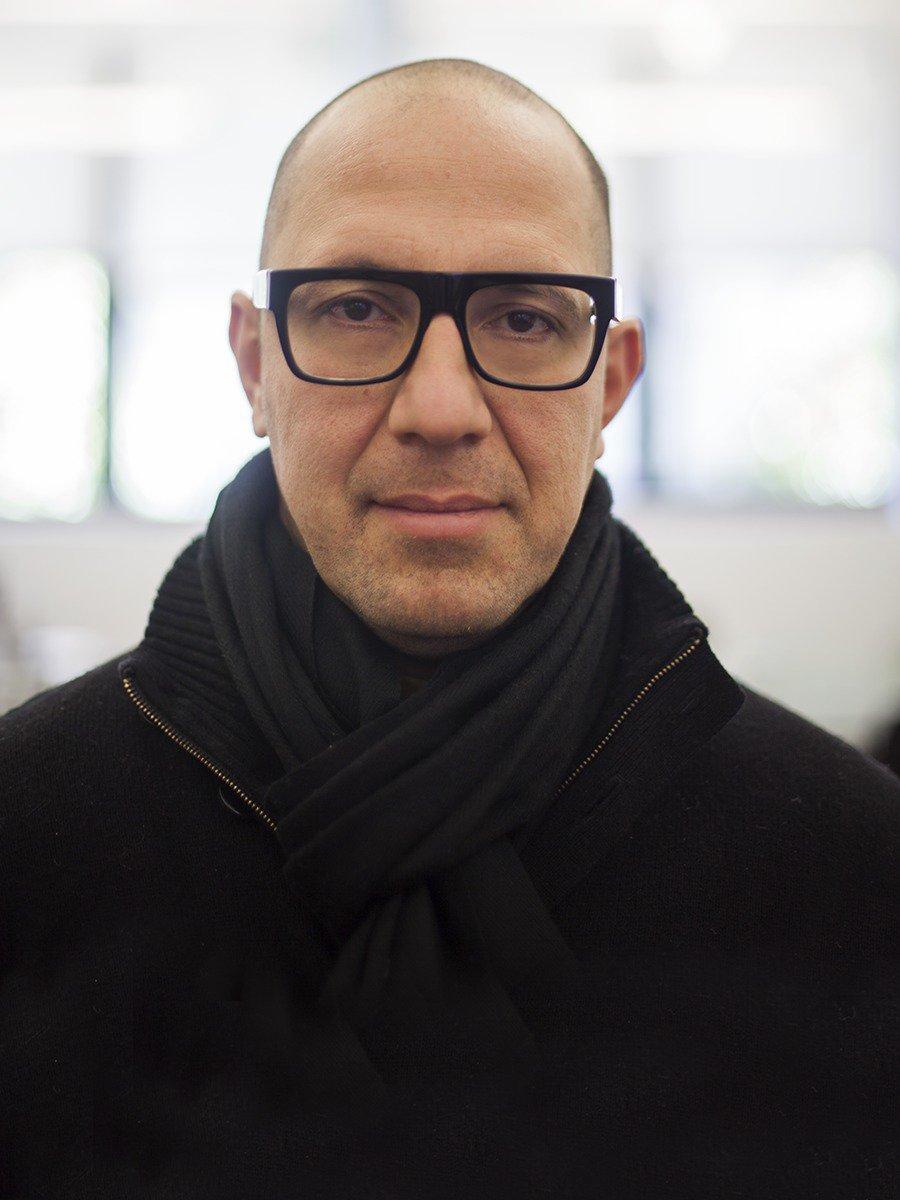 Navid Khonsari - photograph by Vassiliki Khonsari