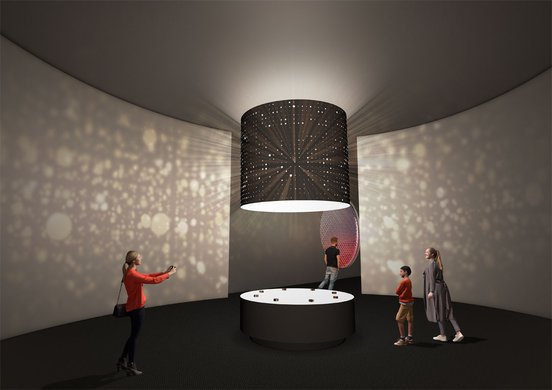 New exhibition entrance - BKK render