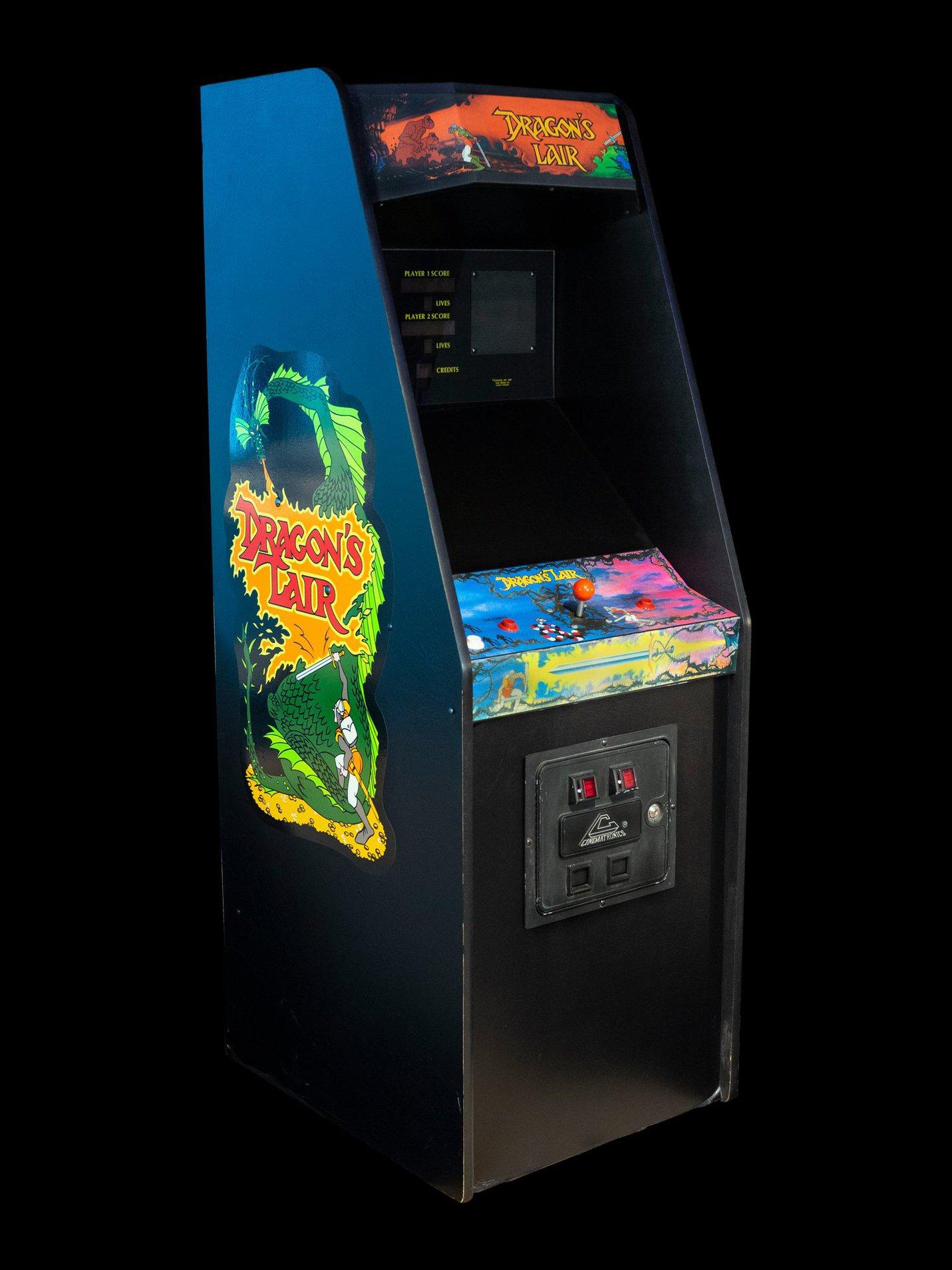 Original Dragons Lair arcade game