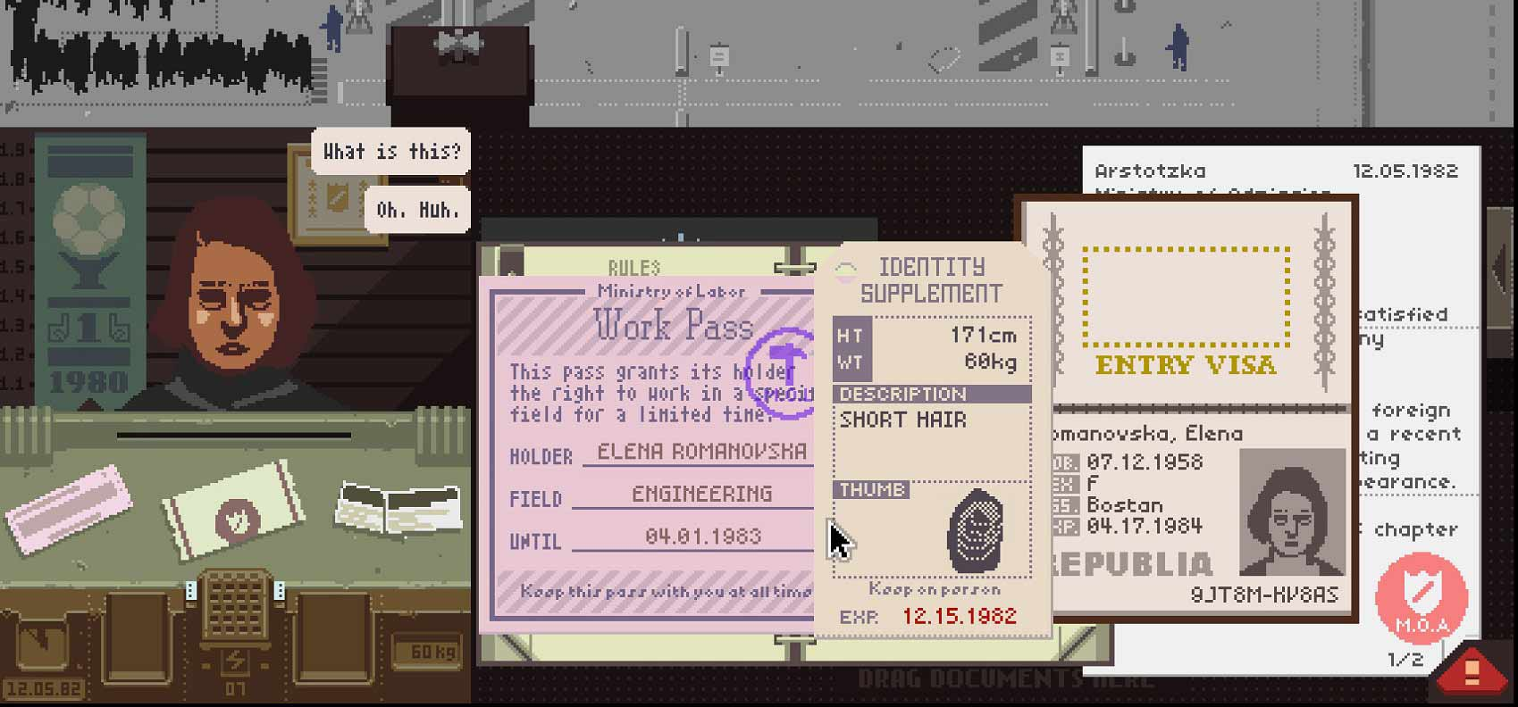 Papers Please header image videogame
