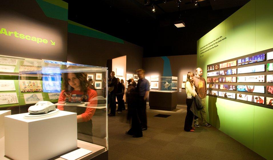 Pixar exhibition space
