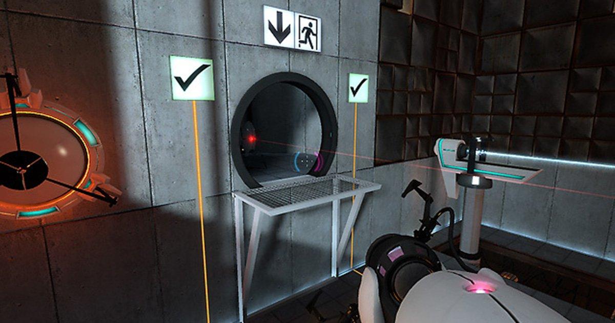Screenshot from.'Portal' (2007)