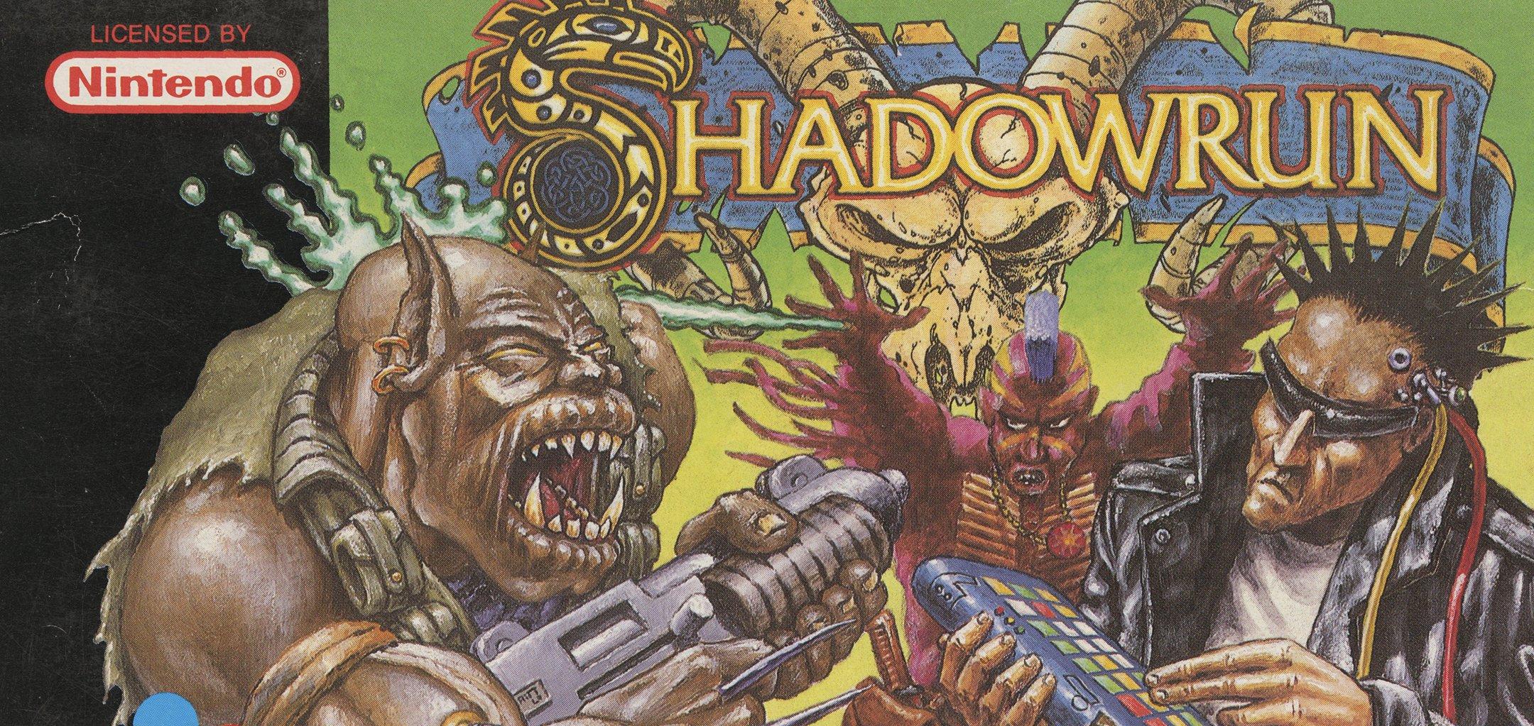Retail box for Shadowrun (1993)