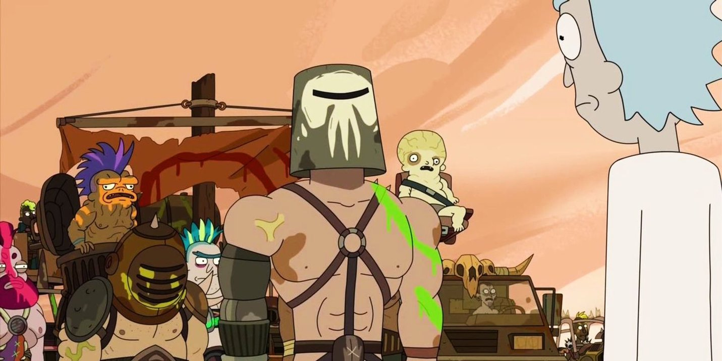 Rick and Morty Mad Max Influences.jpg
