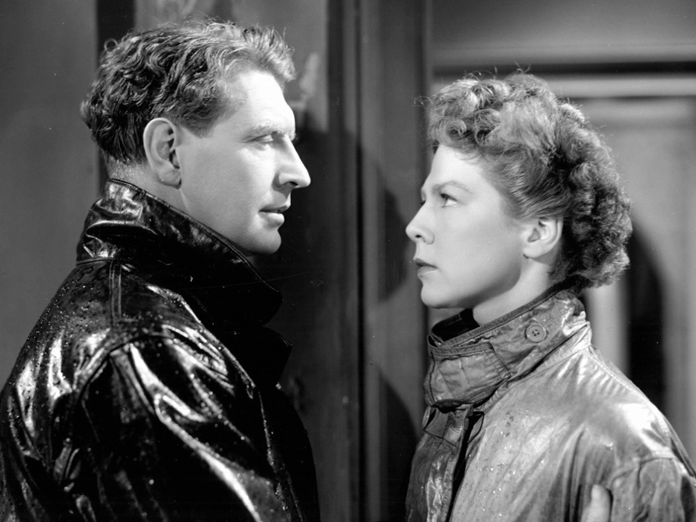 Roger Livesey and Wendy Miller in I KNow Where I'm Going - 1945