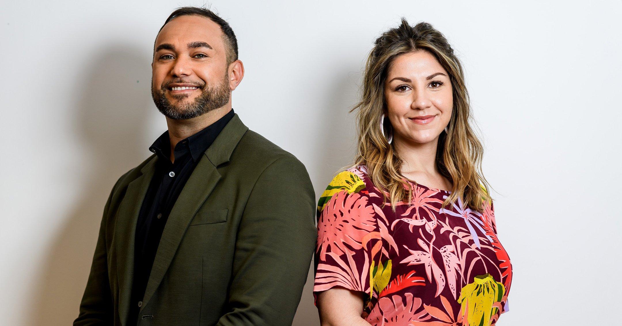 Ryan Liddle and Shahni Wellington - hosts of Big Mob Brekky -  hero image