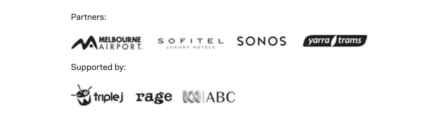 Spectacle partner logos