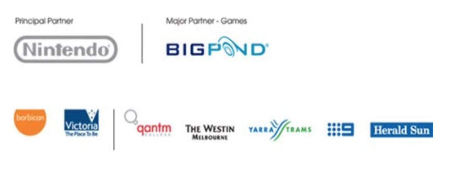 Game On - sponsor logos