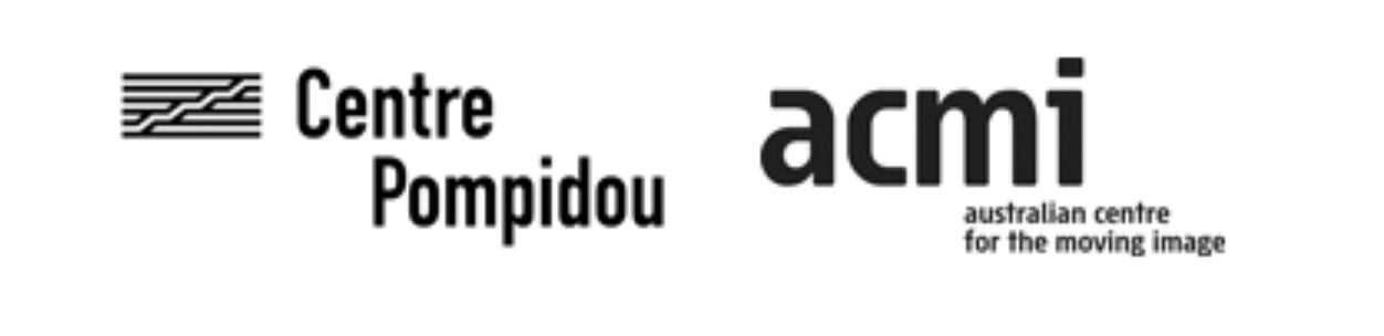 Centre Pompidou Video Art 1965-2005 - partner logos