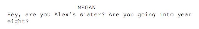 Script line example 1