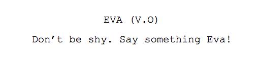 Script line example 3