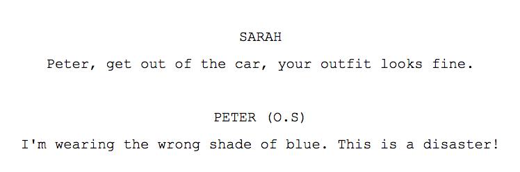 Script line example 4