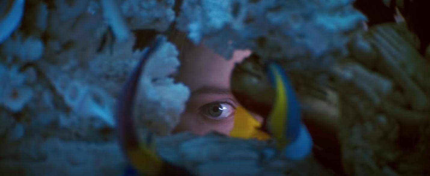 Romeo + Juliet fish tank scene