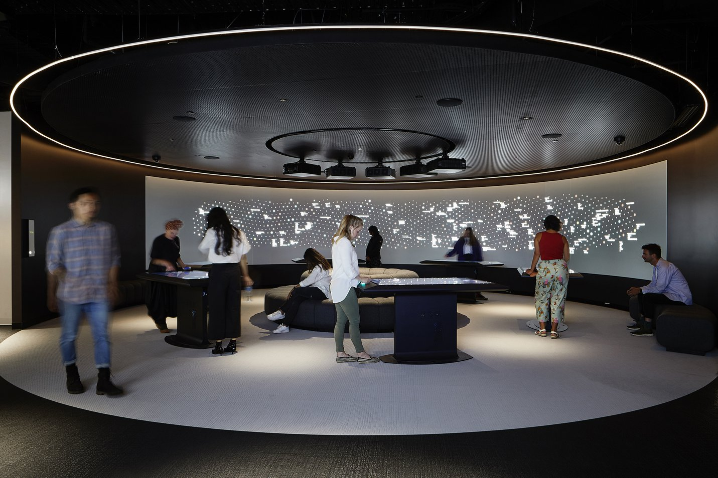 The Constellation at ACMI - photograph by Shannon McGrath