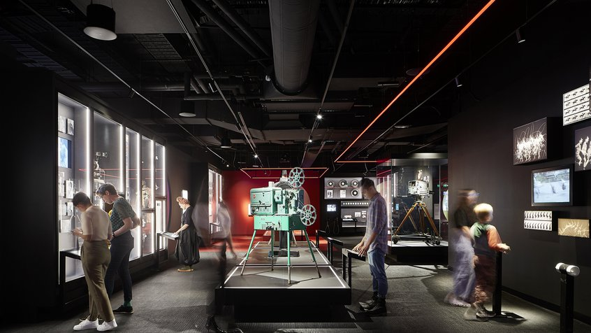 ACMI museum interior (Moving Images) - photograph by Shannon McGrath