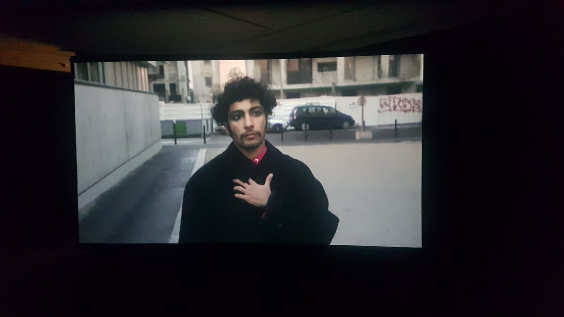Sorour Darabi in a still from Tarek Lakhrissi's 'Out of the Blue'