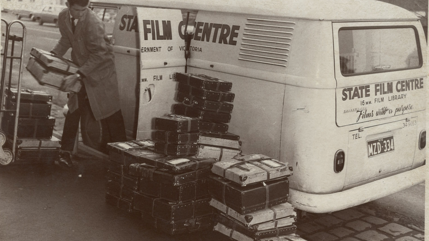 State Film Centre Van - loading film.png