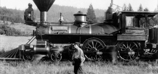 Still from The General (1926)