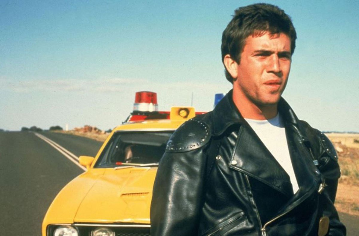 Mel Gibson in a still from Mad Max (1979)