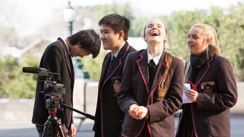 Students secondary filming camera 2 2160 x 1023