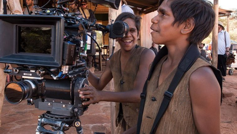 Behind the scenes of Sweet Country - photograph by Michael Corridore