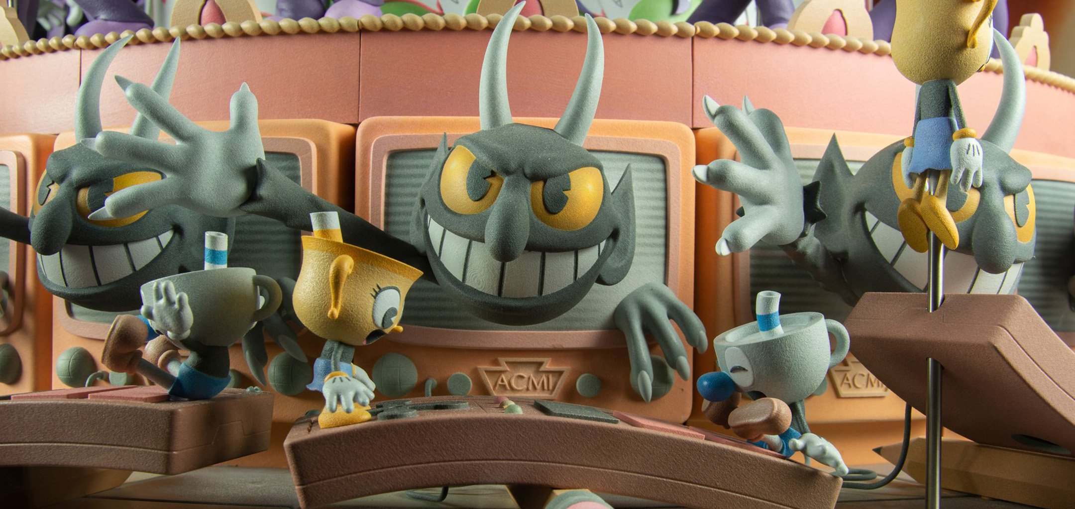 The Devil as featured in ACMI's Cuphead Zoetrope - cover image