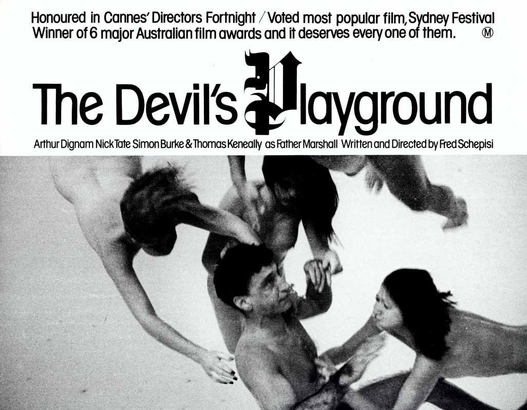 The Devil's Playground poster 1976