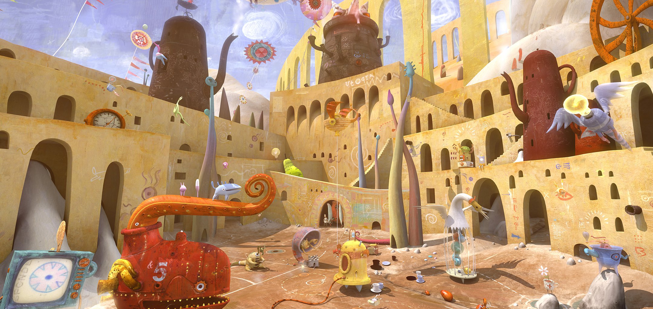 The world of Shaun Tan's The Lost Thing (2010)