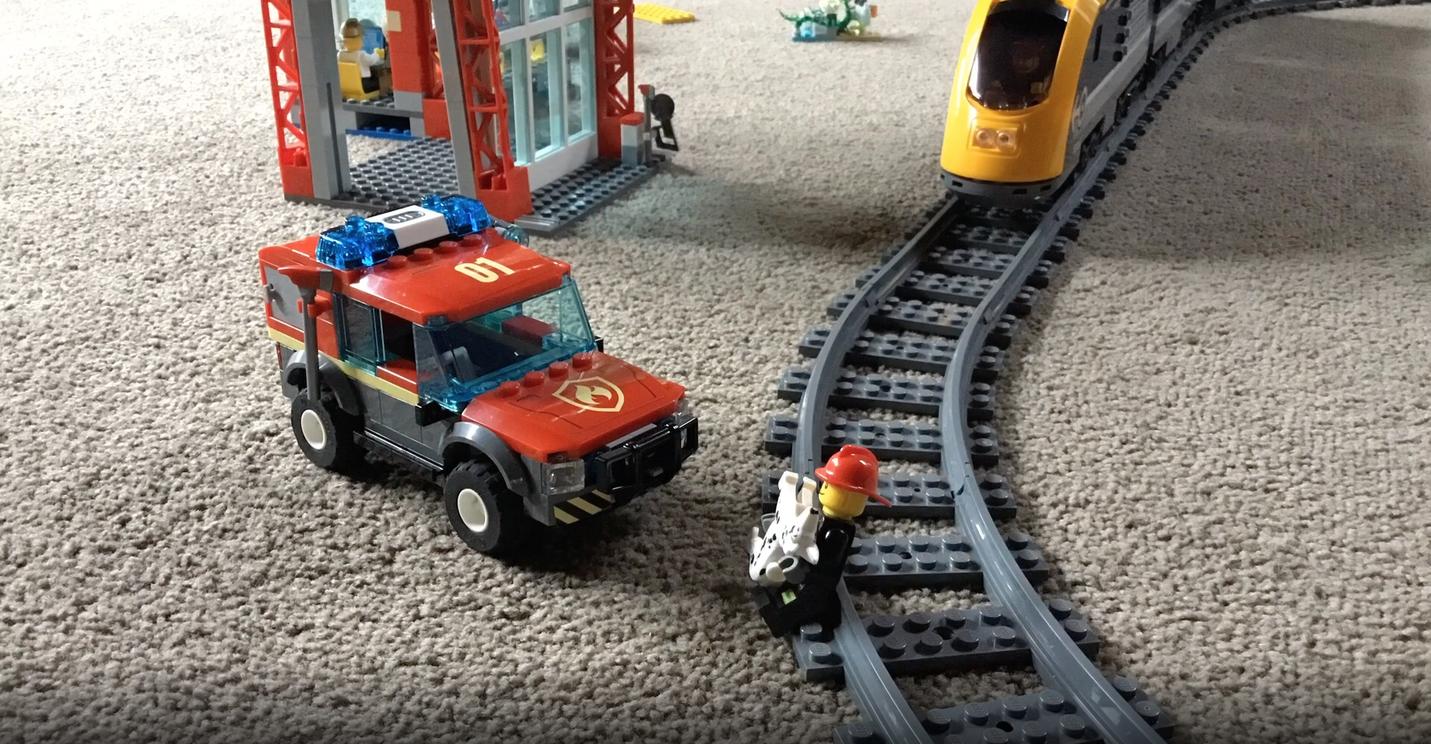 The Rescue lego animation