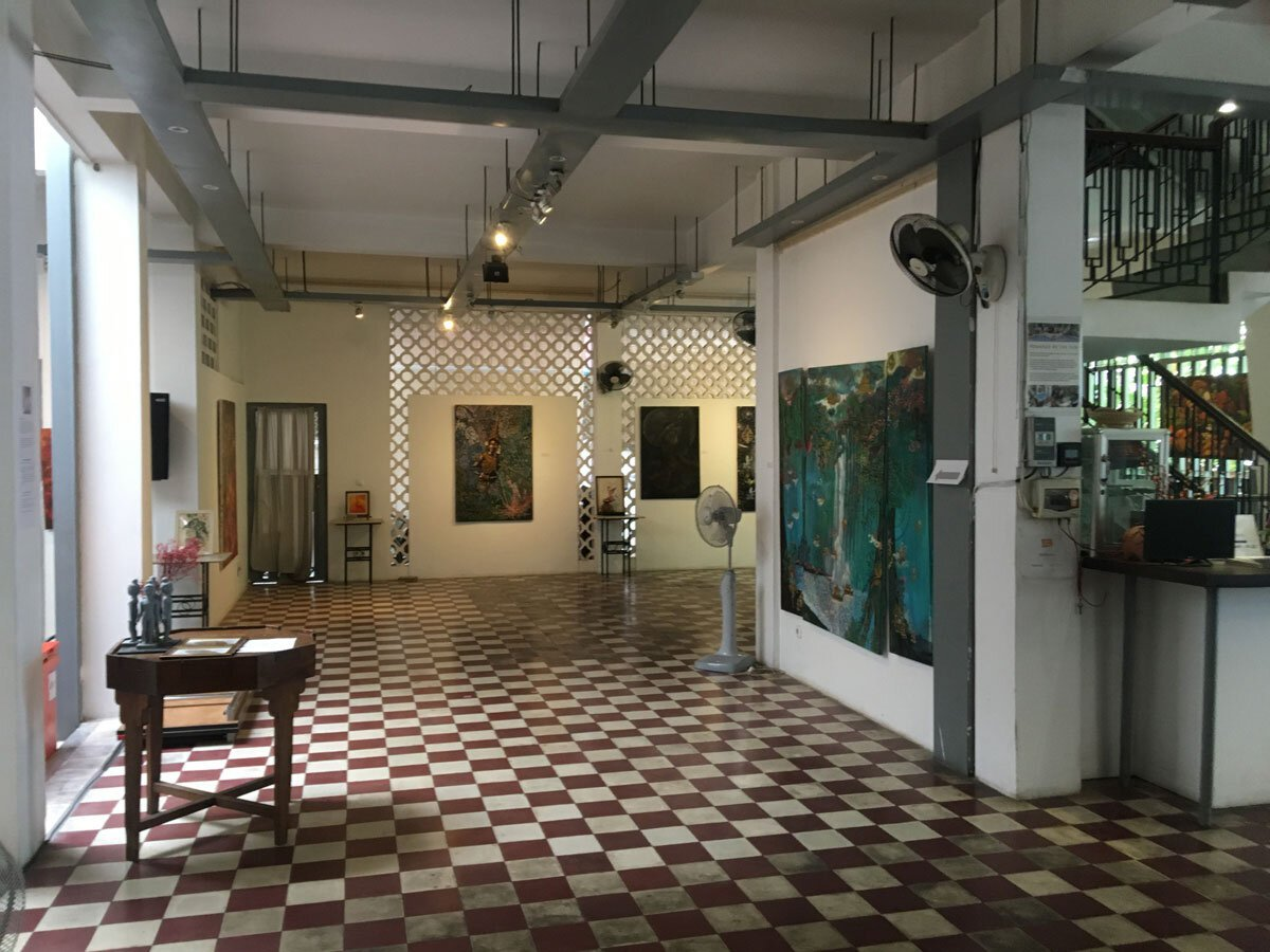 The gallery space at Bophana