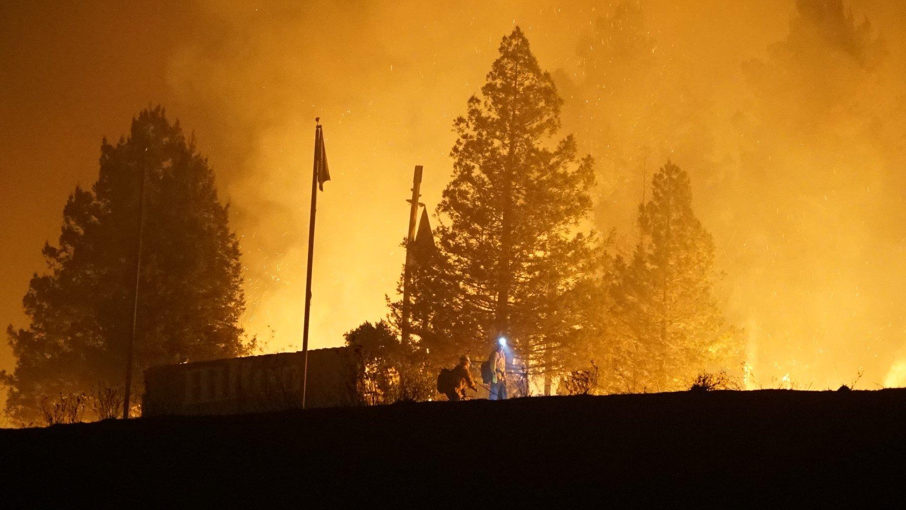 Climate change fire education