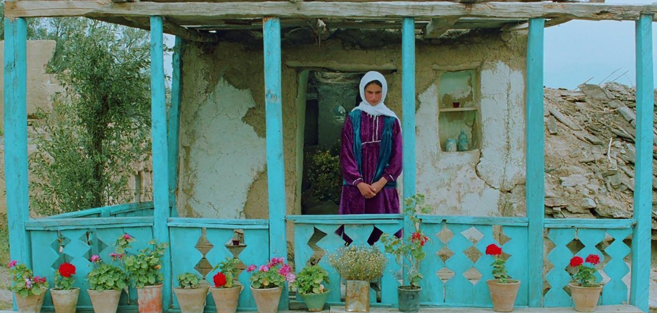 Tahereh Ladanian in 'Through The Olive Trees' (1994)