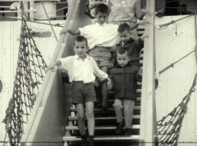Amazing Amateurs: Tony Agapitos.  Arrival of Greek Ship 'Patris' at Victoria Dock 1961